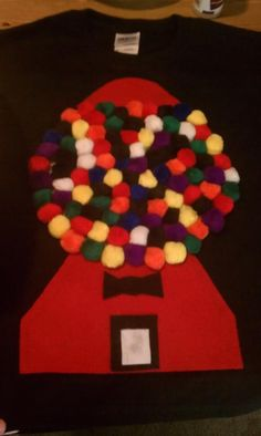 100th day of school shirt...100 gumballs