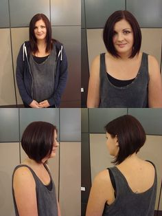 Med/bob hairstyles on Pinterest | Bobs, Haircuts and Bob Hairstyles