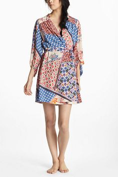 Izel Silk Robe $138 perfect for post delivery to feel pretty and look nice in pics