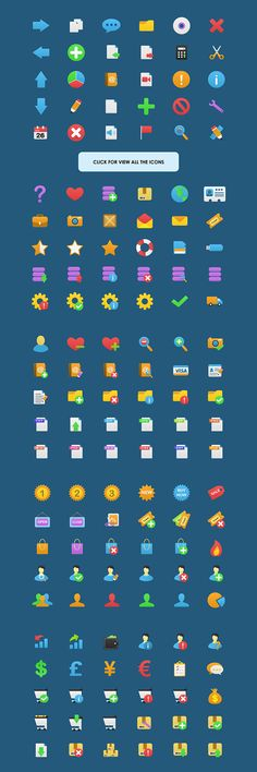 Vector Flatastic Icons on Behance