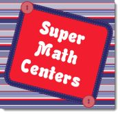 Super Math Centers Link Up! Great teaching tips and freebies all in one place on Corkboard Connections!