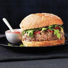 Meatless Almond, Bean  Grain Burgers - Clean Eating