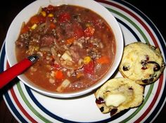 Stew is a great way to start cooking wild game, especially bear meat. You won't dry out the meat even if you over cook.