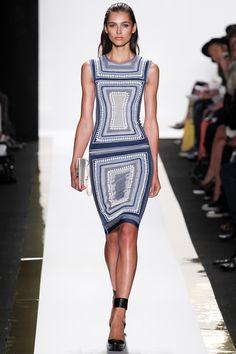 Hervé Léger by Max Azria Spring/Summer 2014 #herveleger #maxazria #nyfw #mbfw #springsummer #fashionweek #catwalk #runway #2014 #ss14 #model #fashionshow #fashion