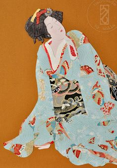 geisha - Distant Lady - japanese portrait