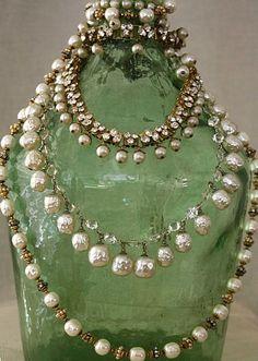 Miriam Haskell necklaces