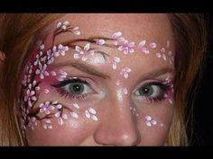 Cherry Blossom Face Painting Tutorial