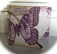 Laura's Creative Moments: Swallowtail (Stampin' Up!)