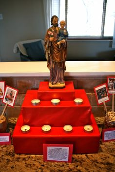 Catholic Missionary Family: Altar Decorations for the Solemnity of St. Joseph