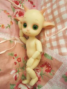 Leshy from Island doll is a tiny 10cm resin sprite.  via Flickr