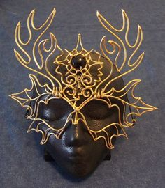 Bronze Horned God Mask by BronzeSmith on Etsy, $125.00