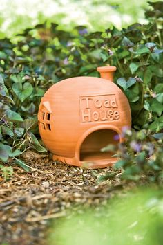 Toad House totally need this for my toad in the backyard!!