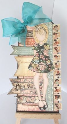 Dots Dashes Doodles & Dreams: Graphic 45 Ladies Diary and A Prima Doll Stamp