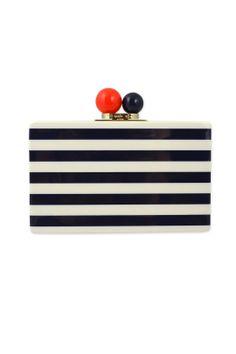 kate spade new york accessories Rita Nautical Clutch