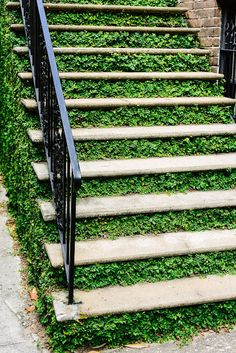 Green stairs - how f