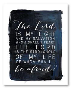 Naptime Diaries - Psalm 27