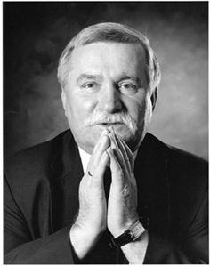 Lech Walesa, Leader of Polish solidarity movement