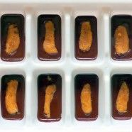 Organic Ice Cube Tray Peanut Butter Cups.