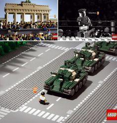 """50 Years Lego - """"Making History"""" Ads by Jung von Matt"""