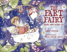 This is the mischievous little fairy responsible for the mysterious sounds and odors that are a part of everyday life. The book comes with an audio CD and has received both the Mom's Choice and the Benjamin Franklin Gold Medal Awards.
