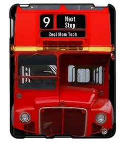 UK fans: Double decker bus iPad case