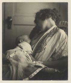 "photo by Louis Fleckenstein, 1900, ""Mother Breast-feeding her Baby."" Amsterdam, Rijksmuseum"