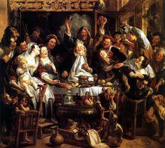 Le Roi Boit Jacob Jordaens, 1640