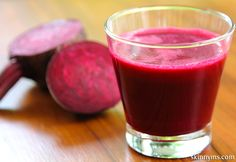Hot Pink Cooler, cleansing and refreshing.  Beet  has cleansing and detoxing properties. #cleanse #detox