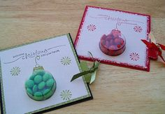 Heart Treat Cups Stampin Up | Treat Cup Xmas Cards w/Pull Out Tab  Tall Xmas Treat Box - Stamping ...