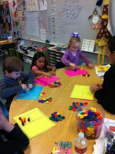Teacher table  Guided math