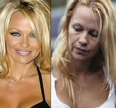 celebs without makeup before and after | Celebrities without Makeup Before and After ~ Fashion Design And ... pamela anderson, makeup obsess, beauti makeup, real beauti, pam anderson, power makeup, celebr b4, hair idea, beforeaft