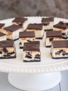 Peanut Butter Oreo Cheesecake Bites by @Tracey's Culinary Adventures I Tracey Wilhelmsen   #cheesecake #cake #food #recipes #deserts #sweets