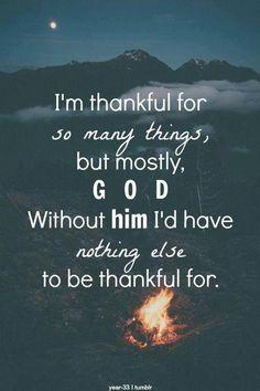 Amen! thankful