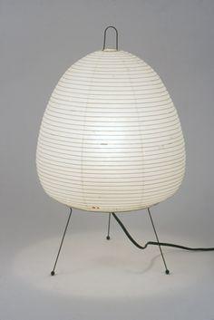 Akari table lamp 1A, Isamu Noguchi.