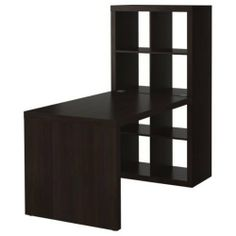 Ikea Expedit Desk and Bookcase Cube Display by Ikea, room divider and desk??
