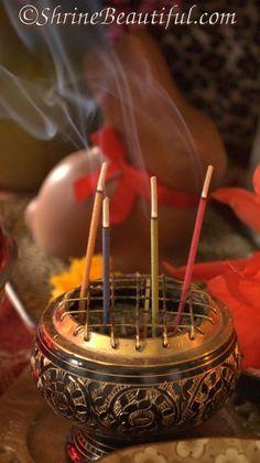 Lovely incense burner.