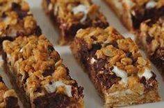 s'more granola bars