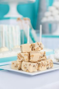 Blizzard Fudge. #christmas #dessert #recipes