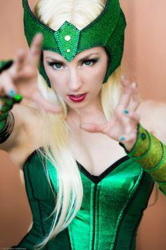 Sif, Enchantress and Lady Loki...Cosplay
