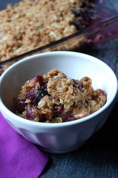 Blueberry Crisp [gluten free]