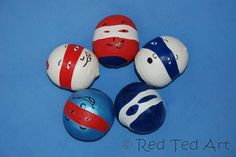 Can't decide if these are stress balls or juggling balls.. probably both. They definitely #Superheroes though!