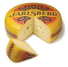 Jarlsberg cheese.