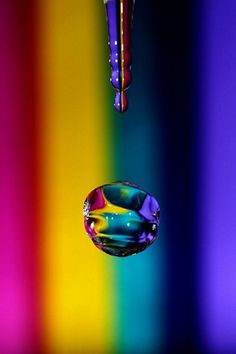 drop of rainbow