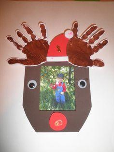 Handprint reindeer foam frame hands, frames, handprint reindeer, hand prints, deer handprint, reindeer foam, foam frame, christma, kid