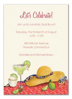 Margarita Invitation