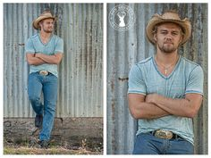 country senior guy pose - follow the link to view the full session