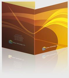 InDesign templates for presentation/corporate folders. #indesign #indesigntemplates #vector