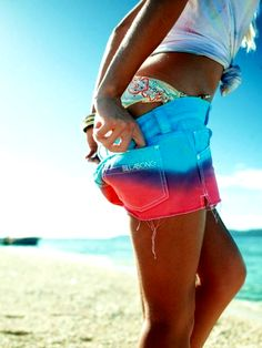 Dreaming of a PINK summer. Love these shorts!