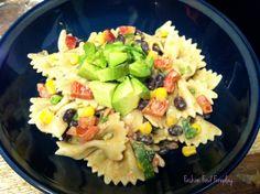 yummy recipe for healthy pasta salad