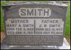 Pathway To Remembrance: Tombstone Tuesday - James William Smith #genealogy #familyhistory